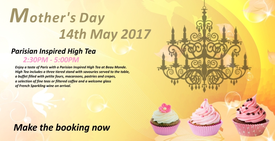 Celebrate Mother's day at Beau Monde