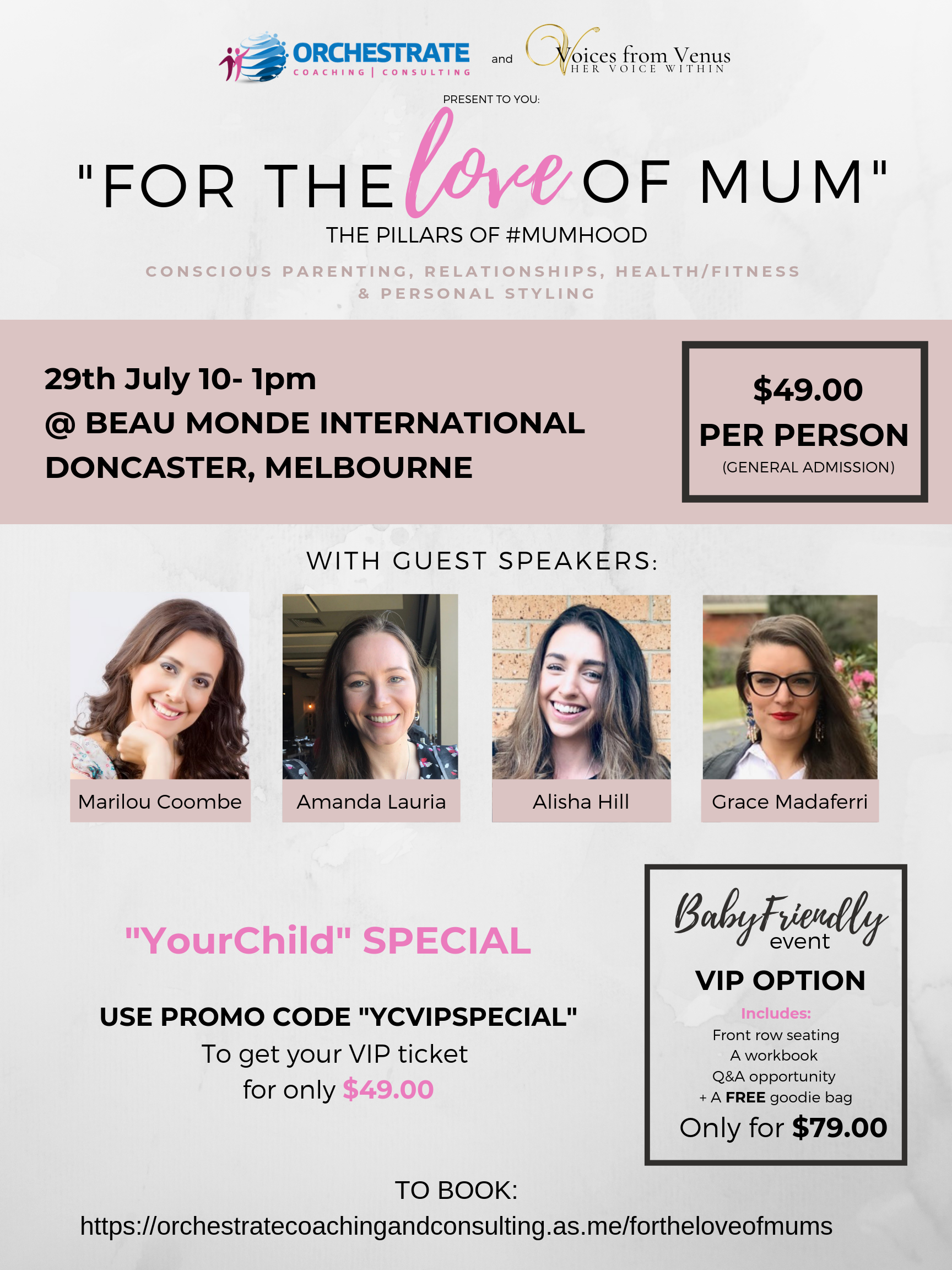 For the LOVE of mum POSTER